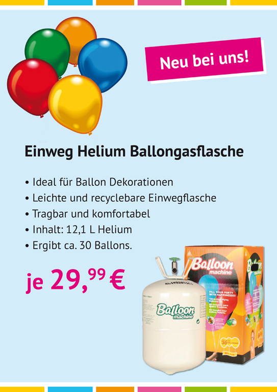 Ballons, Helium, Amscan, Ballonmachine