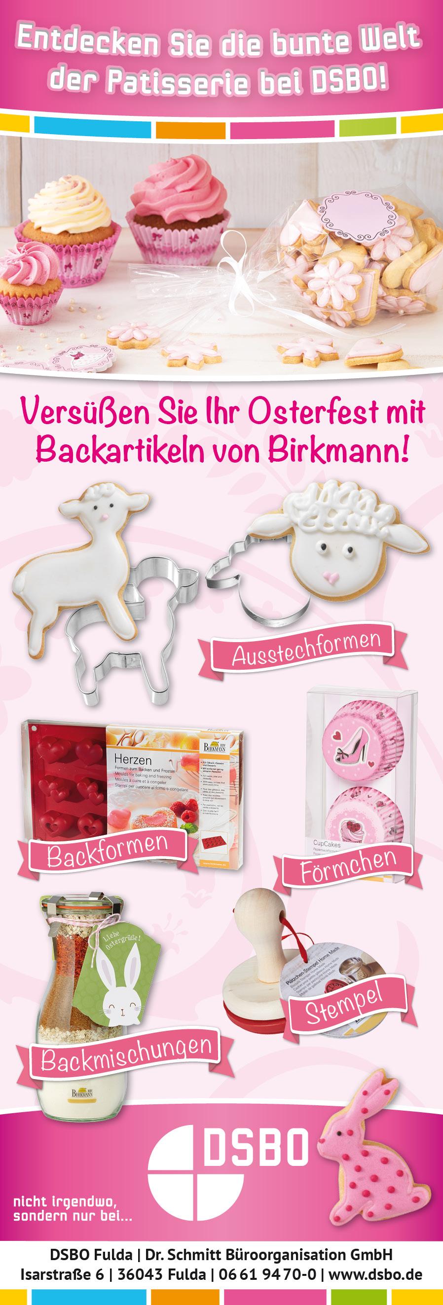 Backen, Ostern, Birkmann, Plätzchen, Kuchen, Muffins, Cakepos