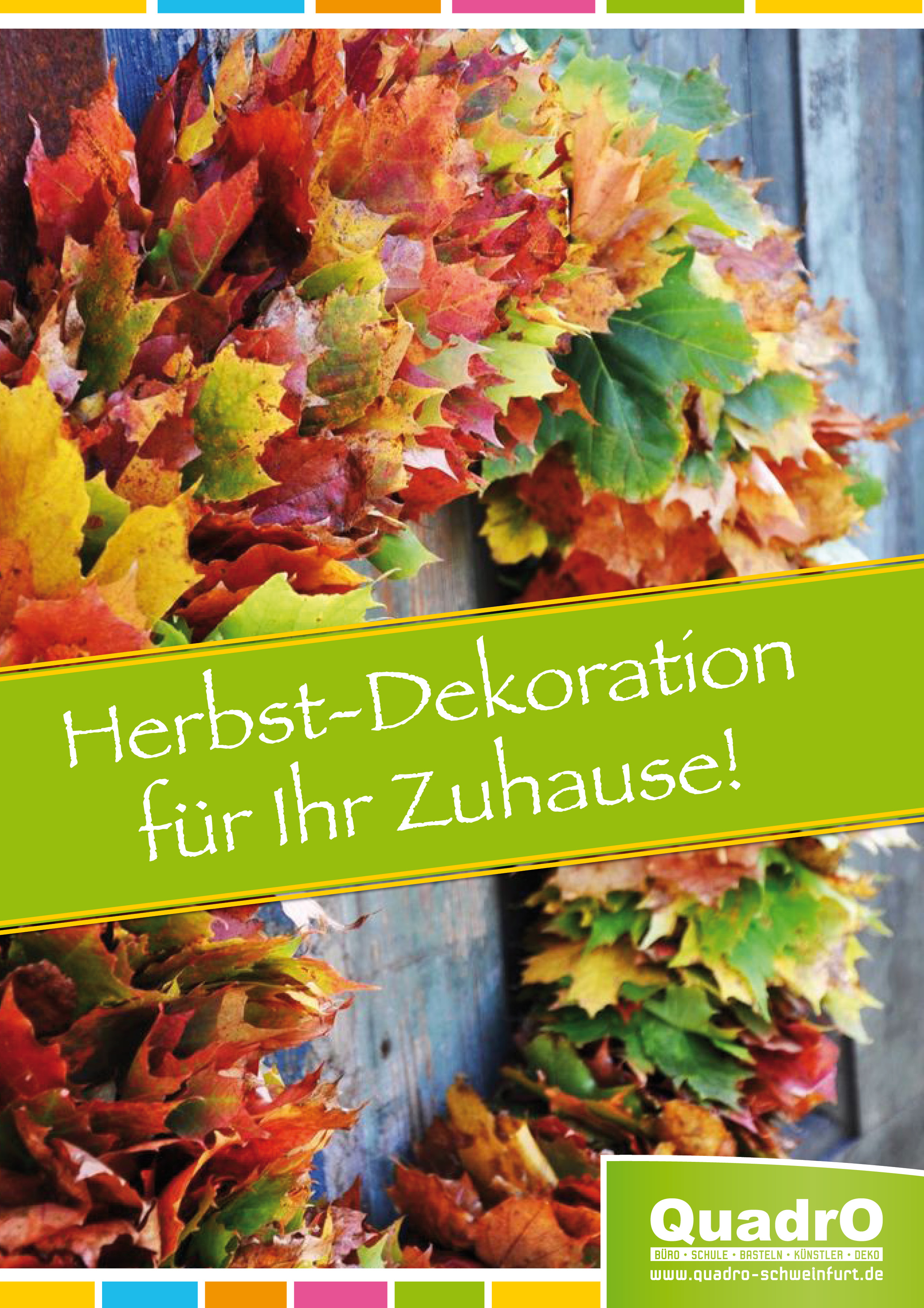 Herbst, Deko, Erntedank, Patisserie, Backen, QuadrO