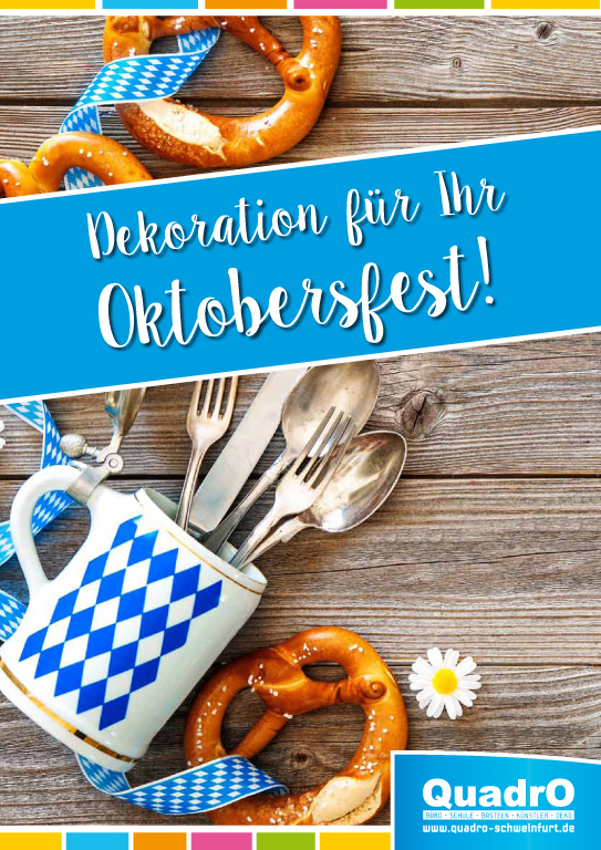 Party, Oktoberfest, QuadrO, Dekoration